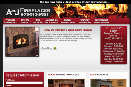 A and J Fireplaces